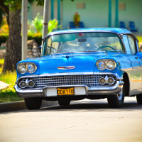 Cuban vintage car