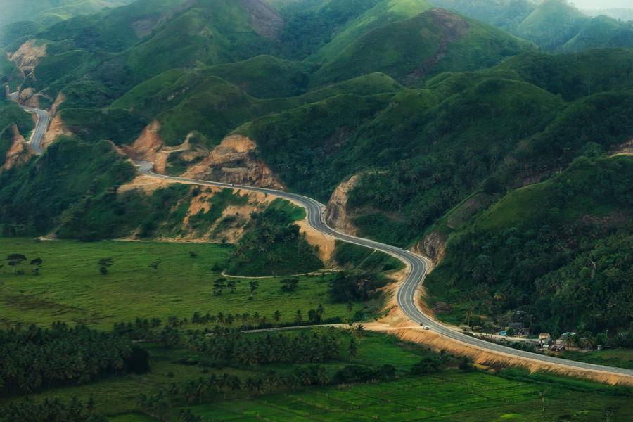 Dominican Republic Samaná road