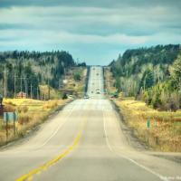Trans-Canada Highway in Northern Ontario
