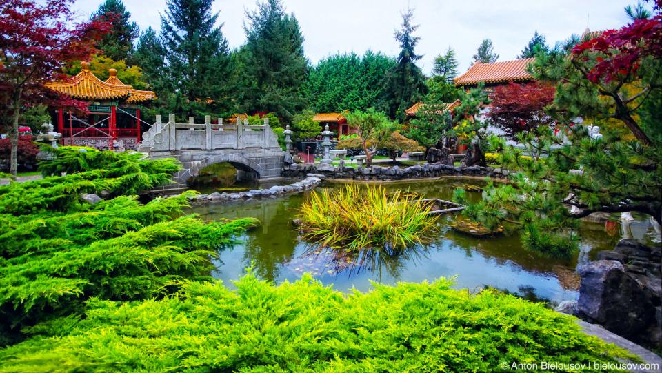 Iinternational Buddhist Temple park (Richmond, BC)