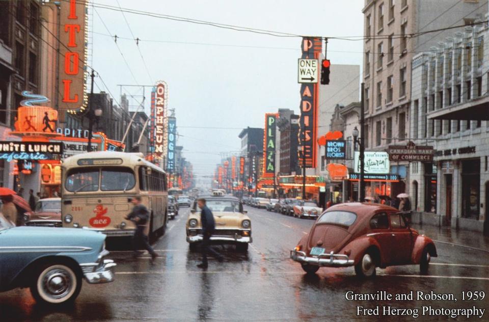 Грэнвиль и Робсон, 1959 год. (© Fred Herzog)