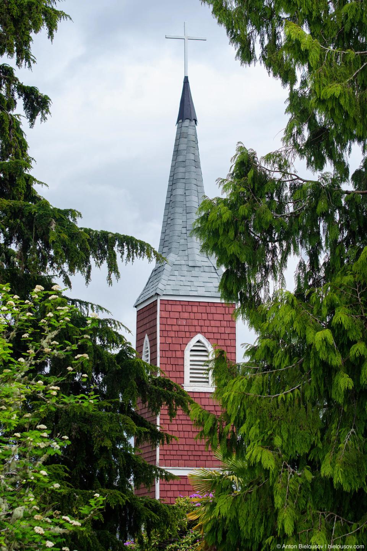 Башня часовни в Tofino, BC