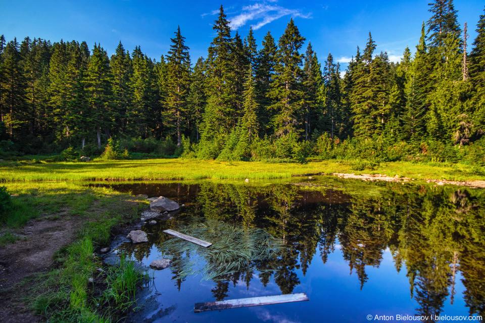 First Lake, Seymour Mountain