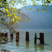 Развалины пристани