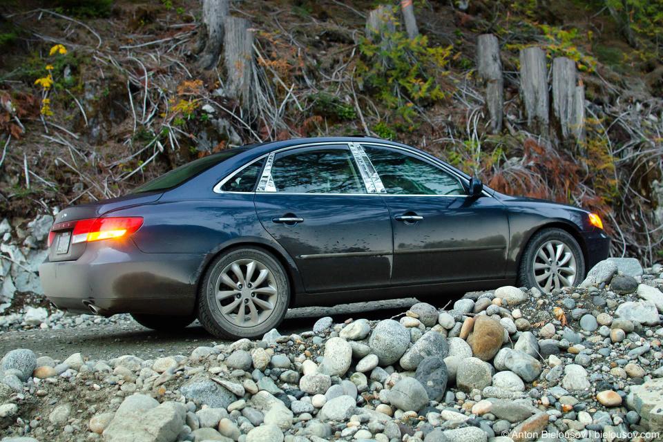 2006 Hyundai Azera Off-road to Keyhole Falls Hot Springs