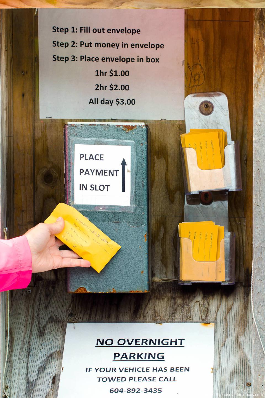 Shannon Falls Provincial Park paid parking