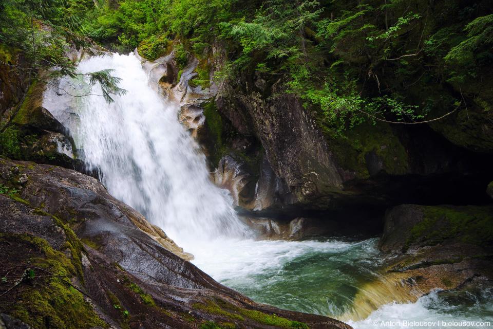 Upper Shannon Falls