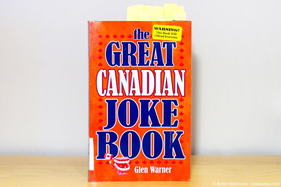 The Great Canadian Joke Book by Glen Warner