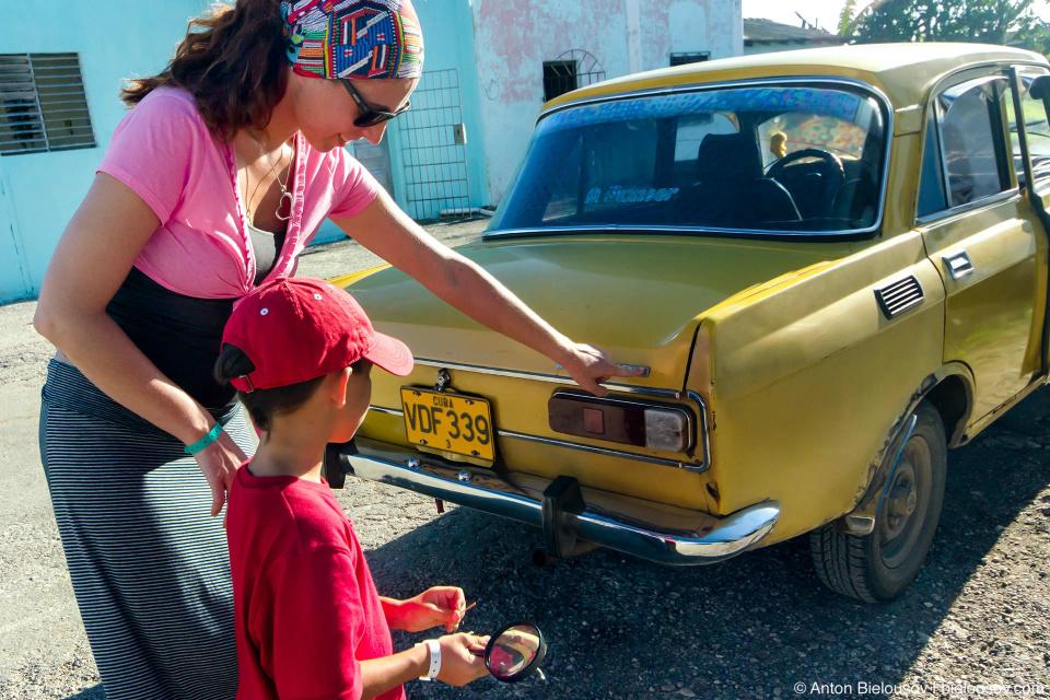 Москвич 412 на Кубе