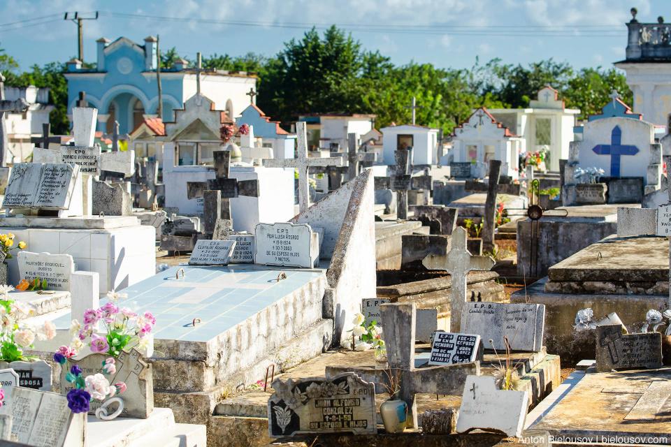 CUBA. Remedios Cemetery