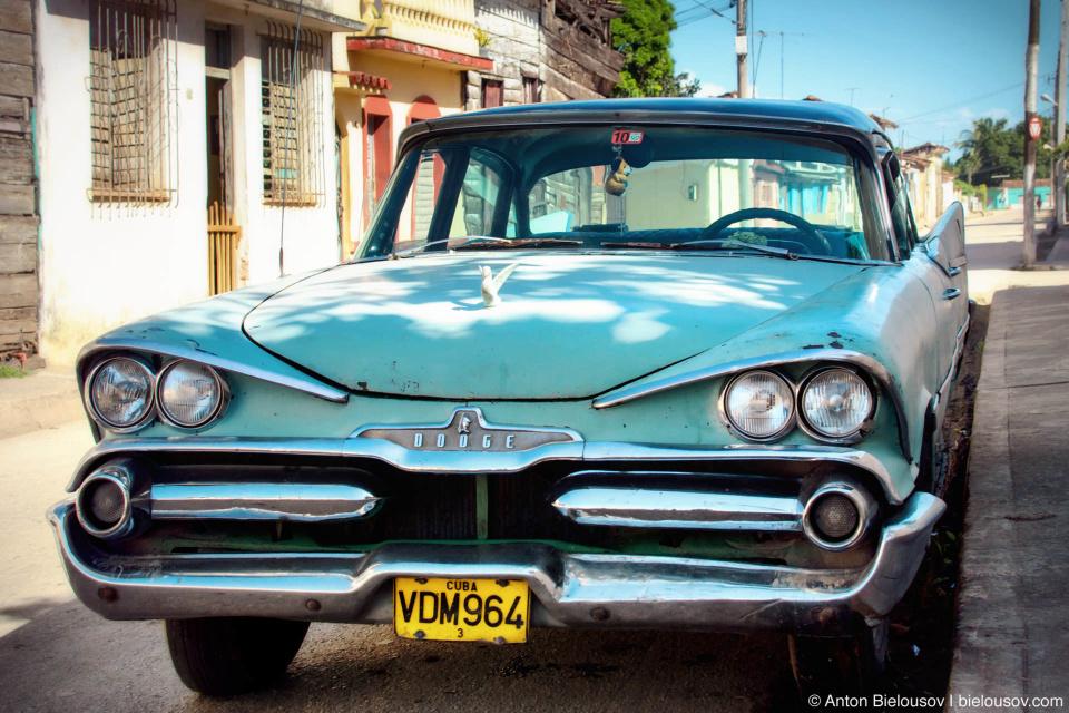 Classic Dodge on Cuba