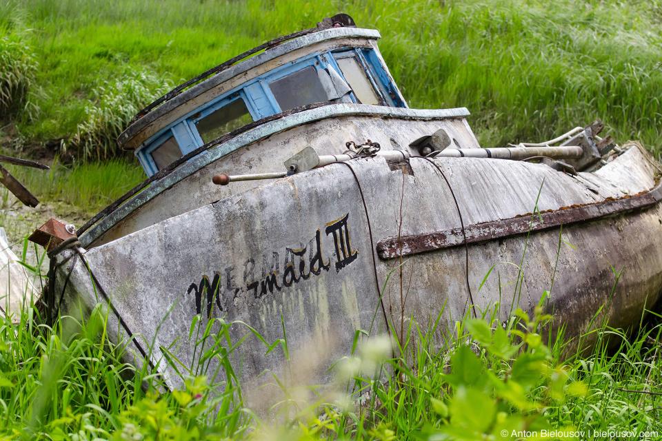 Finn Slough Mermaid III boat (Richmond, BC)