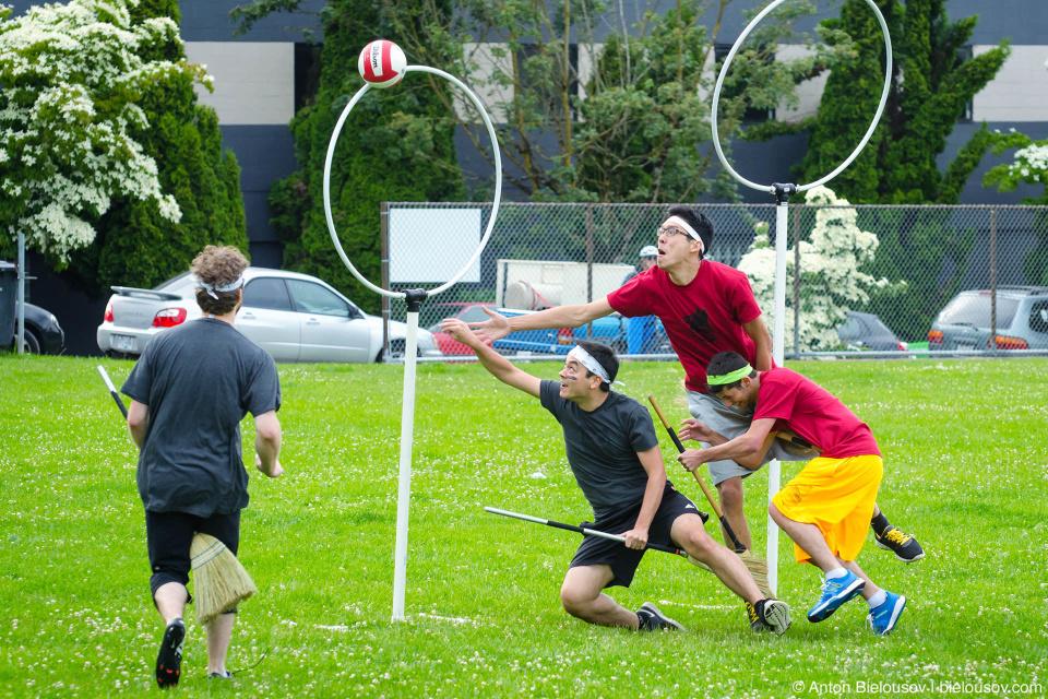 Vancouver Quidditch Game: Hootsuite vs. EA