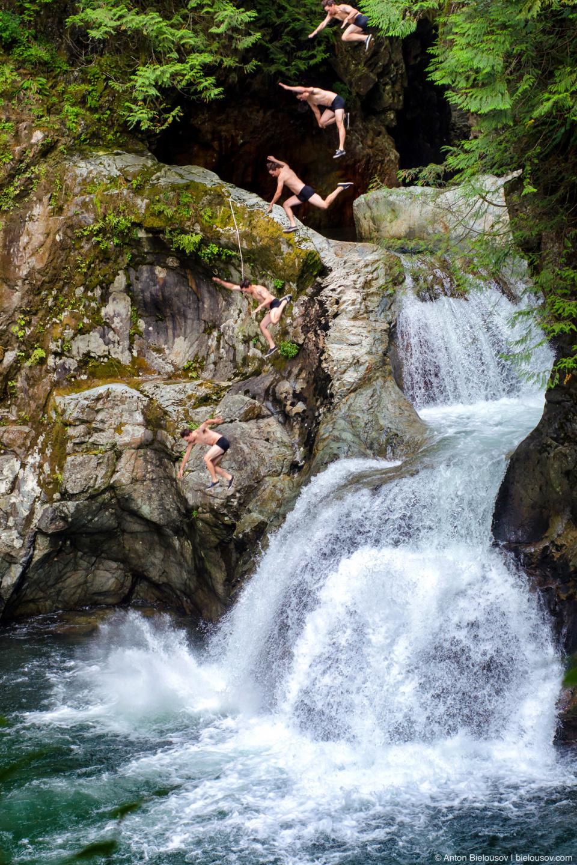 Lynn Canyon Cliff Jumper