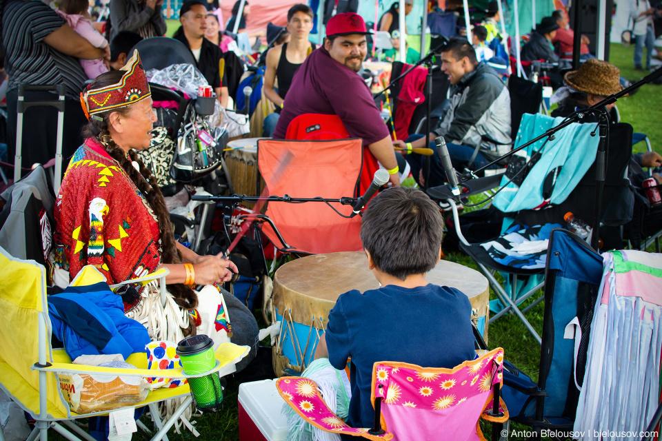 Drummer — Vancouver, Squamish Nation, 2014