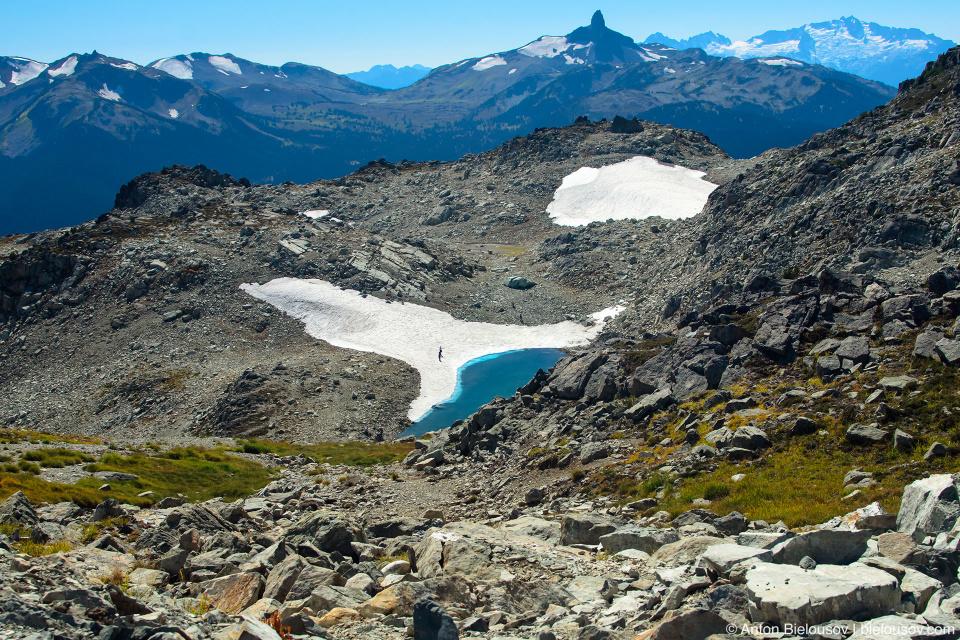 Ледники на юго-восточном склоне Вистлера (Whistler, BC)