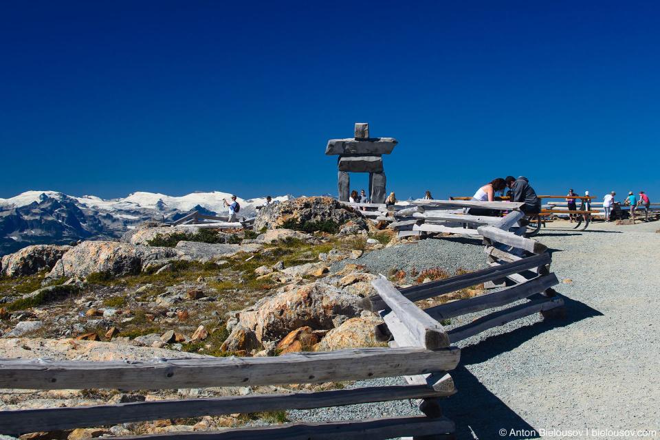 Олимпийский инукшук (Whistler, BC)