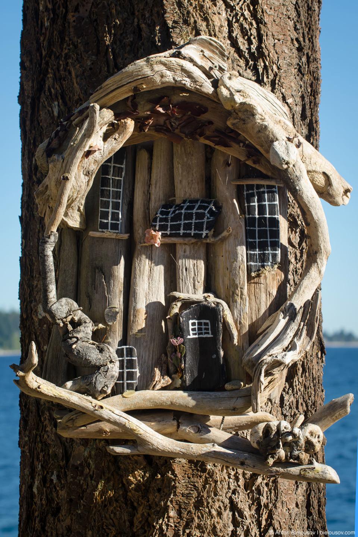 Дом на дереве (Sechelt, BC)