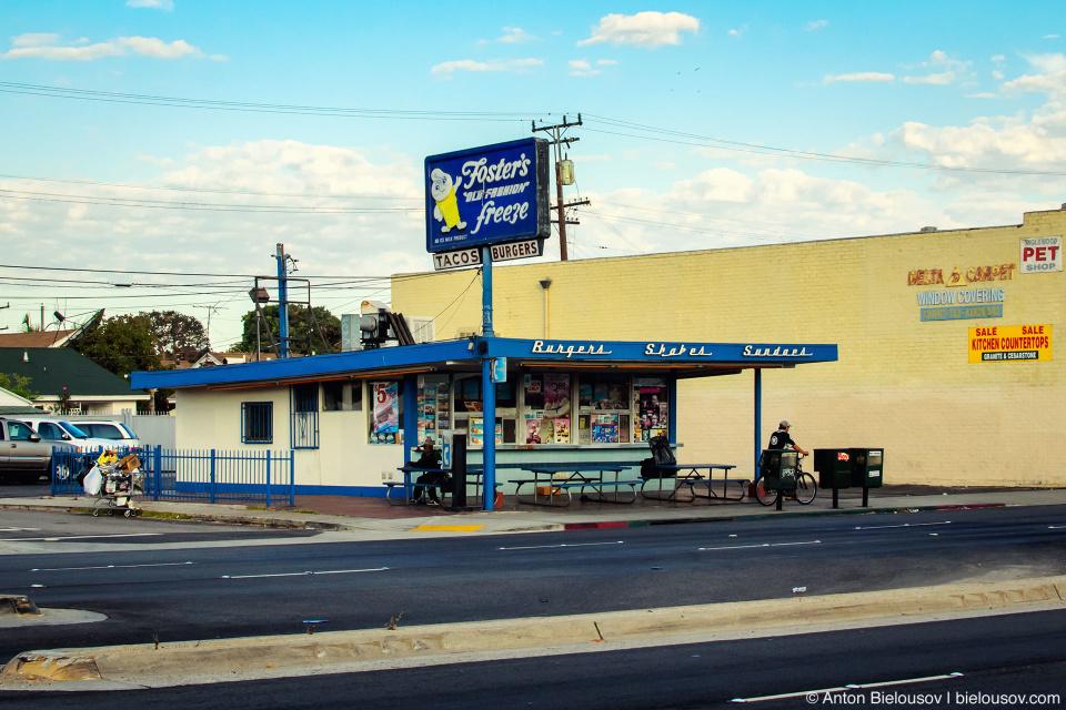 Закусочная в Инглвуде (Los Angeles, CA)