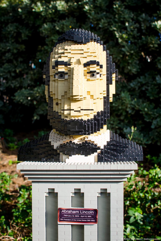 Авраам Линкольн из Лего