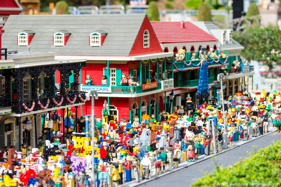 Miniland New Orlean in Legoland