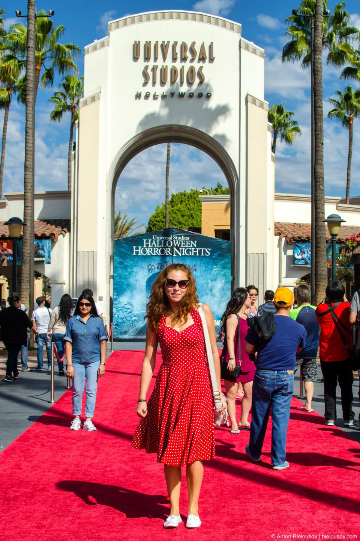 Universal Studios Theme Park Entrance (Hollywood, CA)