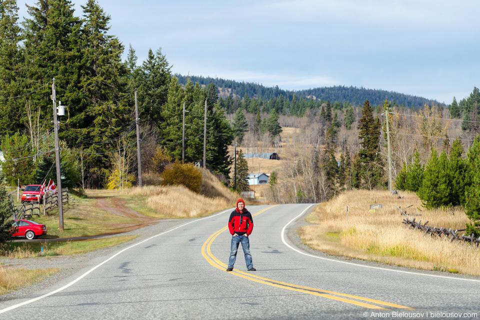 Princeton-Kamloops Highway 5A