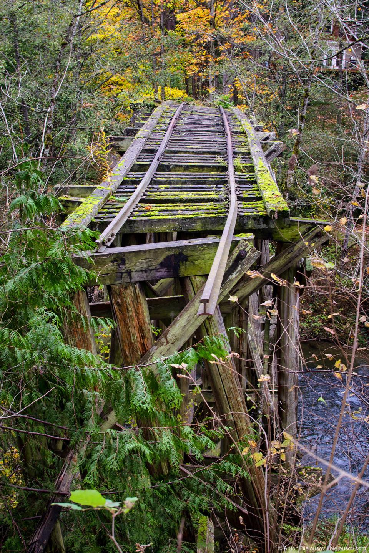 Whatcom Falls Park Railroad Trail Bridge (Bellingham, WA)