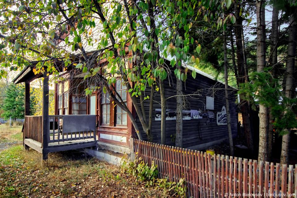 Заброшенные заведения в Coalmont, BC
