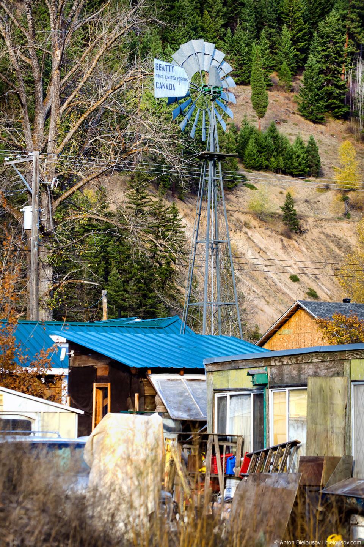 Windmill in Coalmont, BC