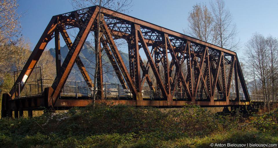 Reining Bridge on Snoqualmie Valley Trail