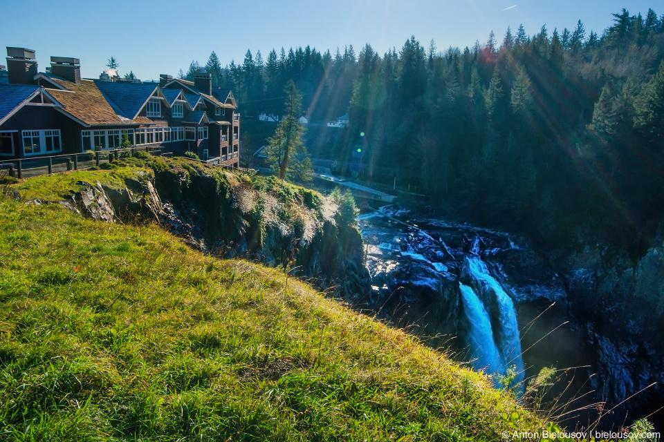 Snoqualmie Falls from Twin Peaks (Snoqualmie, WA)
