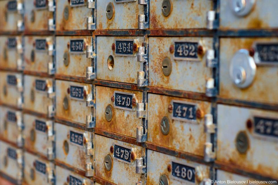 Старые почтовые ящики (Tulameen, BC)