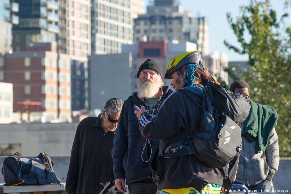 Бездомные Сиэтла (Seattle, WA)