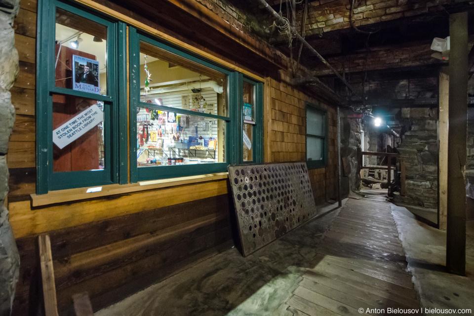 Seattle Underground Tour: exit through gift shop