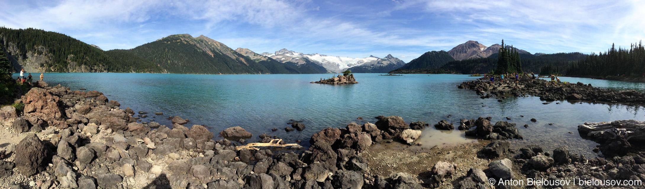 Garibaldi Lake panorama