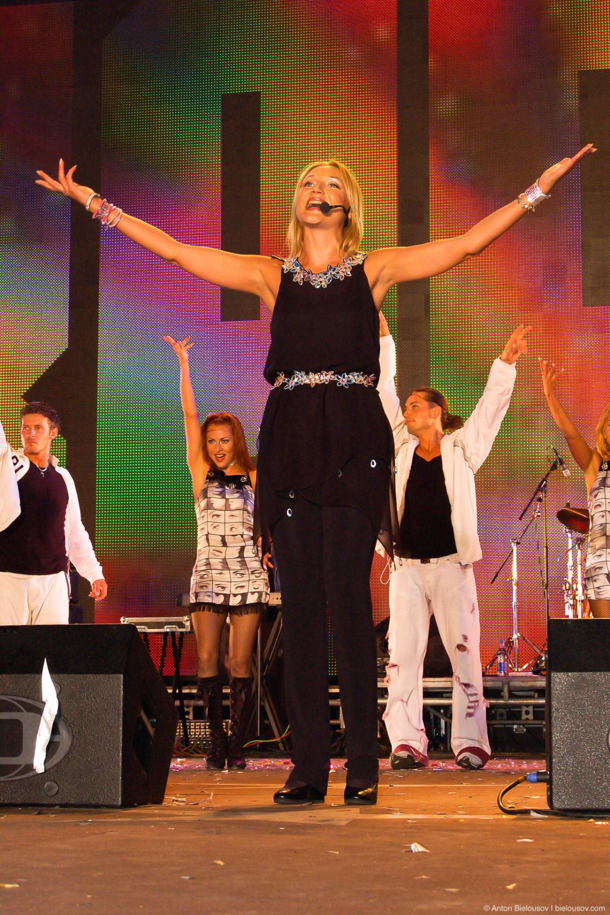 Кристина Орбакайте (Харьков, 2006)