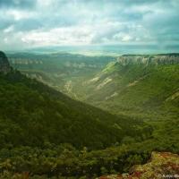 Крым: Мангуп, Серебряные струи, Ай-Петри с рюкзаком