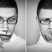 Вы и не подозреваете, как глупо выглядите с сигаретой