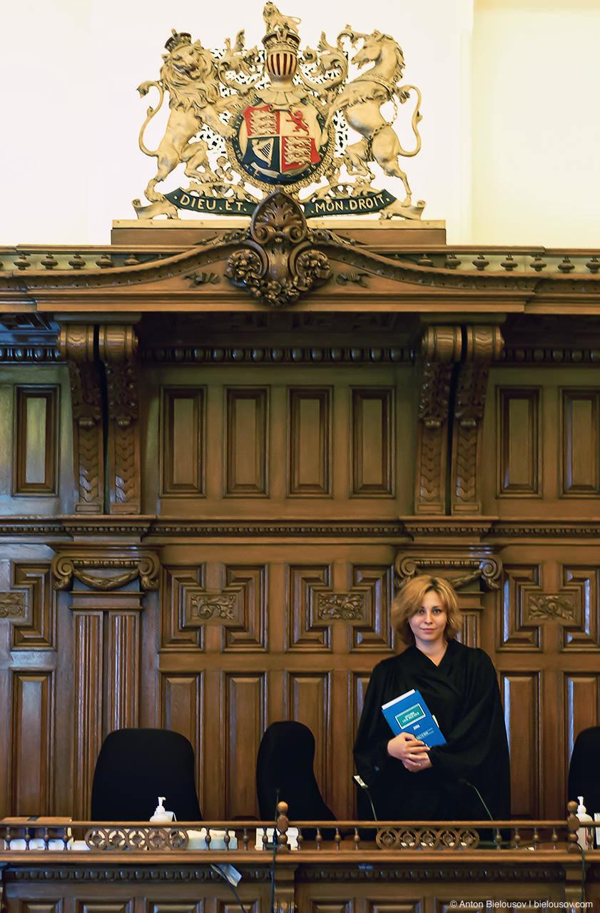 Toronto Osgoode Hall Courtroom