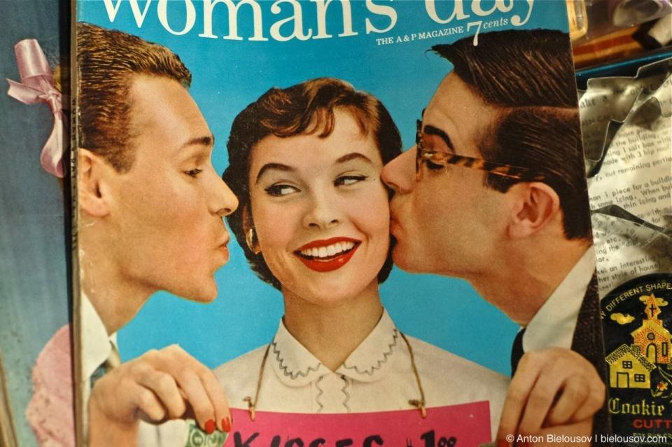 Vintage magazine at Toronto St. Lawrence Market