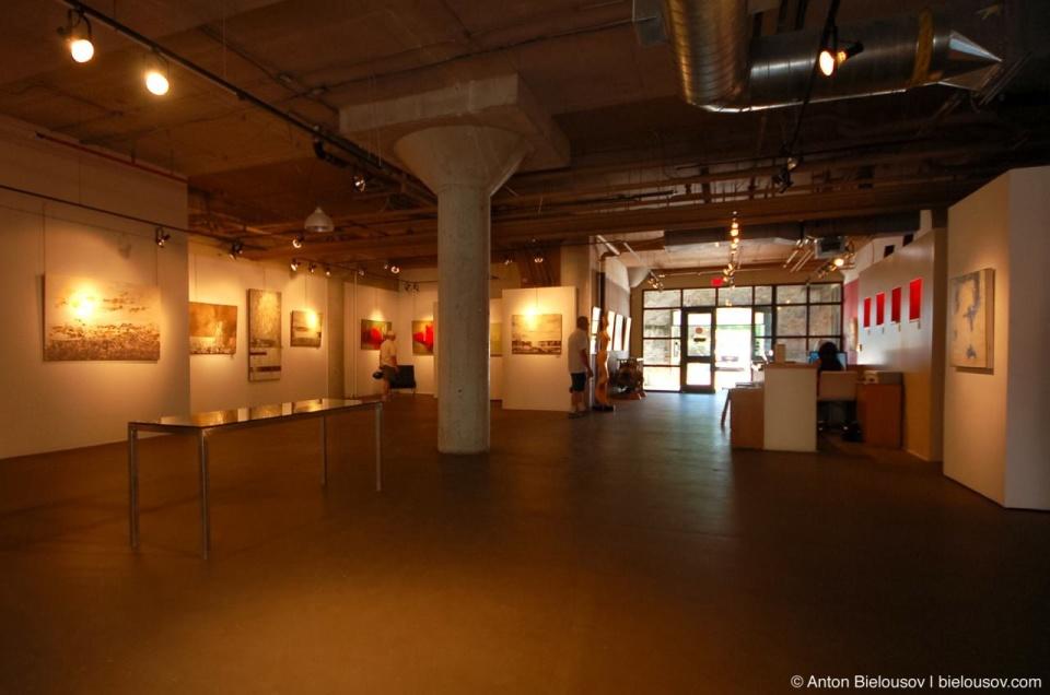 Art Gallery in Toronto Distillery District