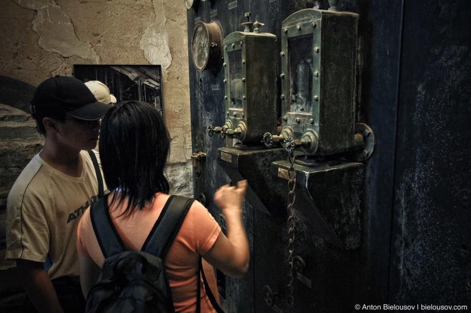 Toronto Distillery Lane Machinery