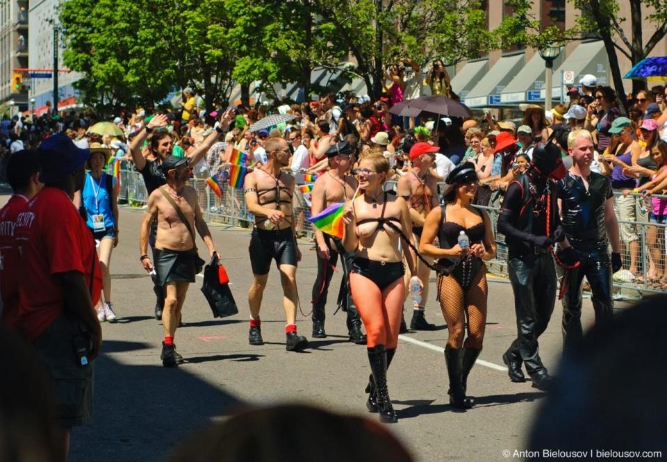 BDSM at Toronto Pride Parade, 2010