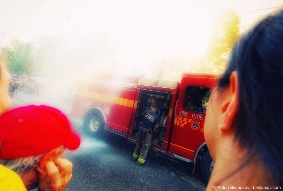 Fire Dept. at Toronto Pride Parade