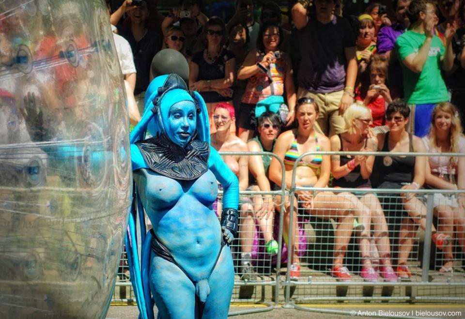 Diva Plavalaguna Transsexual at Toronto Pride Parade, 2010