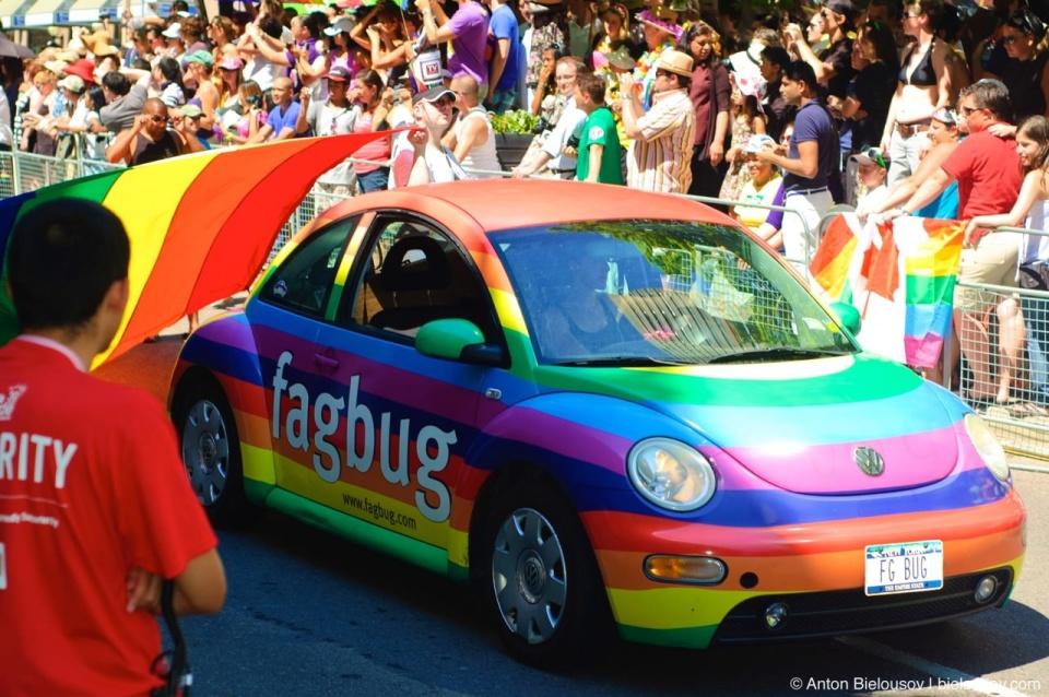 Fagbug at Toronto Pride Parade 2010