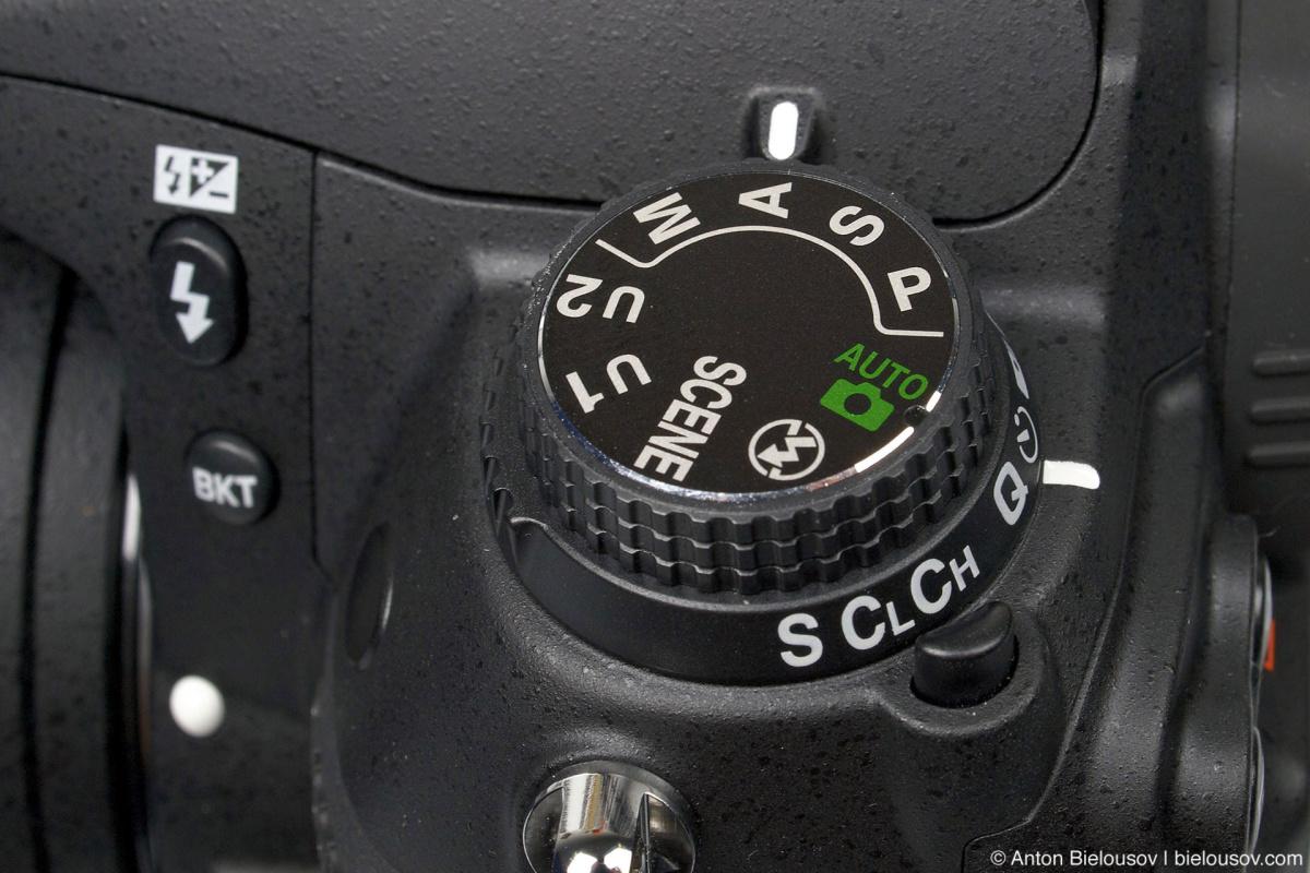 Nikon D7000 Modes Control