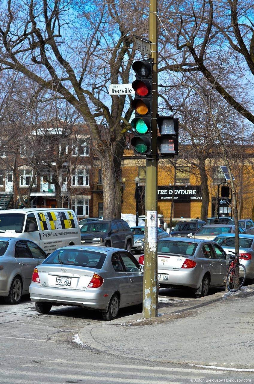 Montréal Street Light