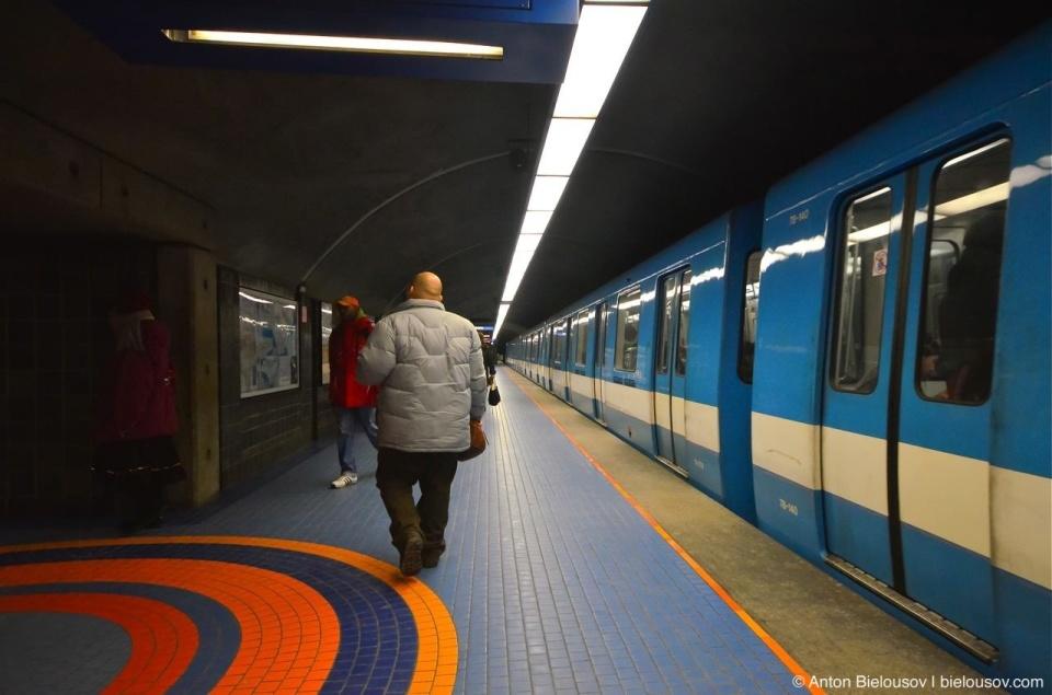 Montréal Metro Station
